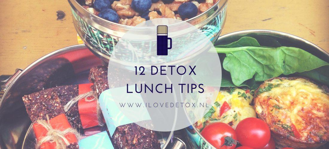 Detox lunch tips, heerlijke en makkelijke detox recepten voor in je detox kuur, tijdens afvallen of dieet. Alleen of met een detox coach!