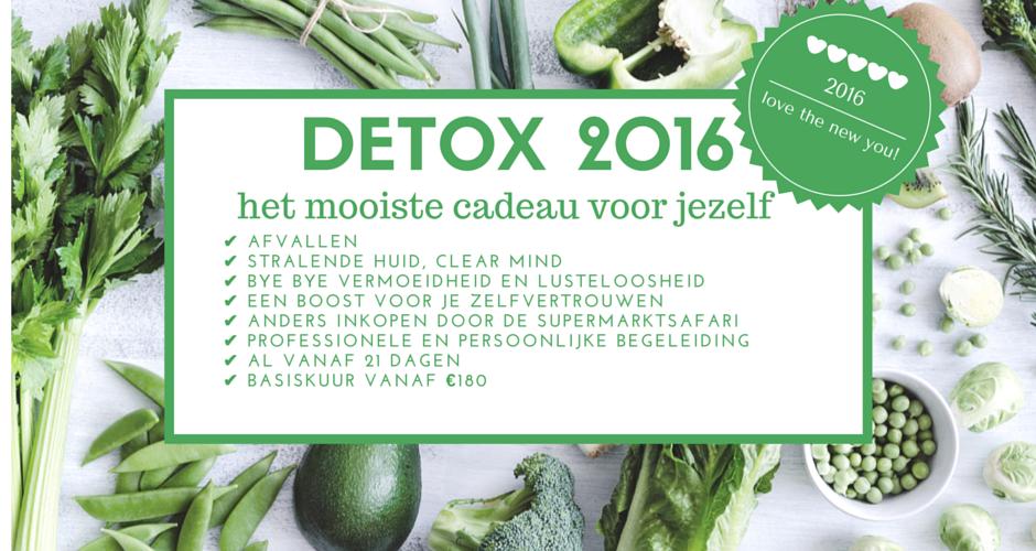 I Love Detox love the new you 2016. Detox kuur thuis met professionele begeleiding en voeding!