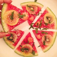 detox zomersnack met meloen