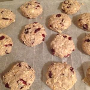 I Love Detox recept: Haverkoeken met kokos en cranberries