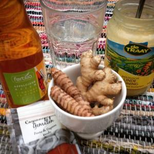 I Love Detox recept voor verkoudheid en griep Magische kurkuma gember drank tegen verkoudheid en griep