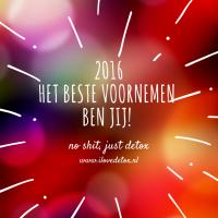 I Love Detox start een gezond begin van het nieuwe jaar: detox kuur en ontgiften 2016!