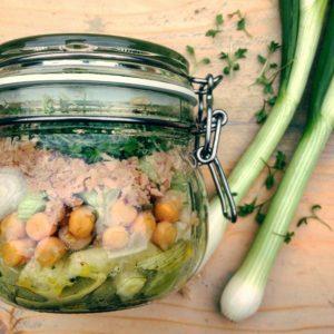 dieet salade met tonijn