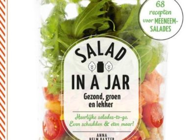 recensie salad in a jar Anna Helm Baxter: recepten voor meeneem salades
