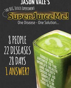 Super Juice Me - Jason Vale. inspirerende detox film over de helende werking van sappen op je immuunsysteem. Een van de aanraders van Nico van Rossum, detoxcoach bij I love Detox