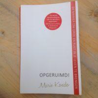 Opgeruimd van Marie Kondo. Een handig boek als je je huis eens flink wilt opruimen. Detox je huis met opruimcoach Marie Kondo!