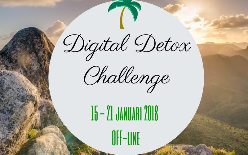 Digital Detox Challenge 2018.Een week offline voor meer rust en ruimte