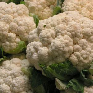 Lauwwarme Bloemkoolrijst in frisse detox salade: Libanese Tabouleh. Lekker in je detox kuur!